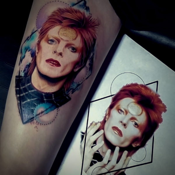 Angela: David Bowie Portrait