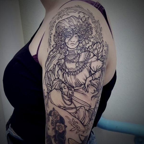 Angela: Detailed Linework