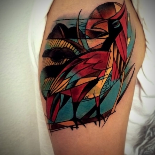 B Wade: Abstract Bird
