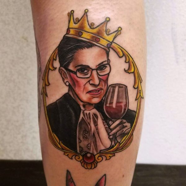 Brandon: Ruth Bader Ginsburg