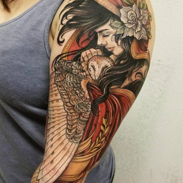 Angela: Owl Spooky Lady