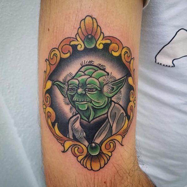 Brandon: Traditional Yoda