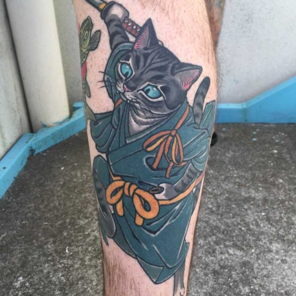 Dock: Samurai Cat