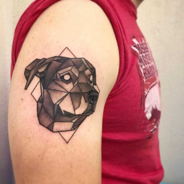 Brandon: Geometric Dog
