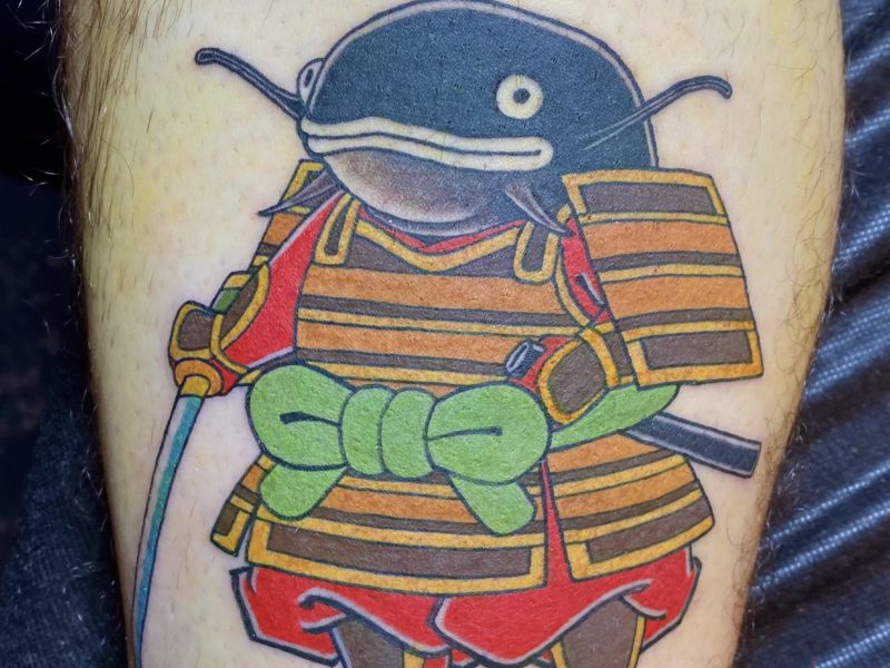 Dock: Namazu Samurai