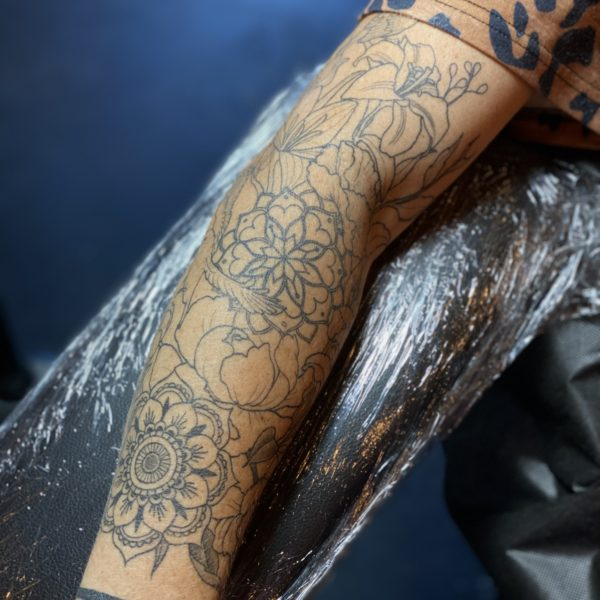 Dock: Mandalas and Florals (fully healed)